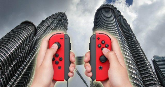 Dunkle Wolken über Kuala Lumpur: Der Corona-Lockdown in Malaysia bremst die Nintendo-Switch-Produktion aus (Fotos: Nintendo, GamesWirtschaft)