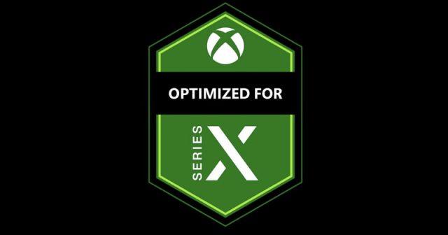 Optimized for Xbox Series X: Mit diesem Logo sind speziell aufbereitete Games gekennzeichnet (Abbildung: Microsoft)
