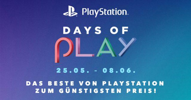 Die Angebote der Days Of Play 2020 gelten vom 25. Mai bis zum 8. Juni 2020 (Abbildung: Sony Interactive)
