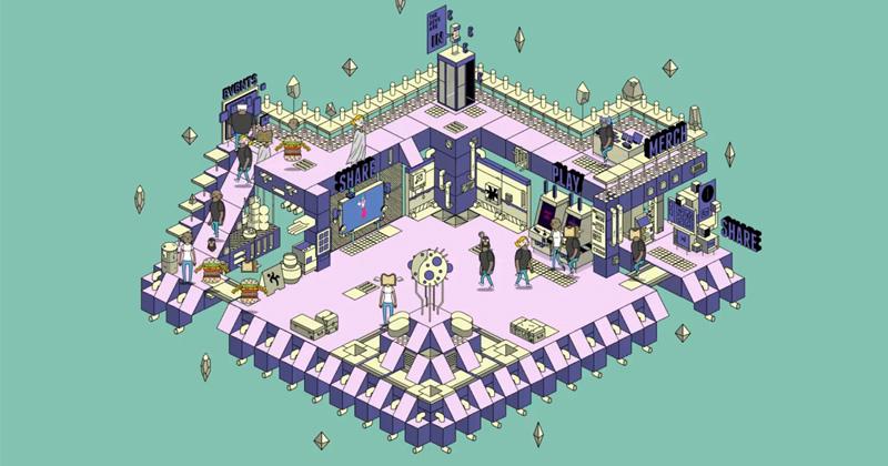 Ein erster Entwurf: So sehen die virtuellen Messestände der Social Gaming Days 2020 aus (Abbildung: Veranstalter)