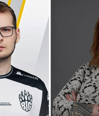 Neu im ESBD-Präsidium: Finn-Lukas Salomon und Kristin Banse (Fotos: BIG / Freaks 4U Gaming)
