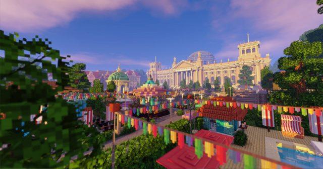Schauplatz des virtuellen Game-Sommerfest 2020: die