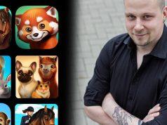 Tivola-Geschäftsführer Hendrk Peeters mit einigen der Greatest Hits des Studios (Abbildung: Tivola)