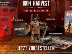 """Der Inhalt der """"Iron Harvest""""-Sammleredition (Abbildung: Deep Silver)"""