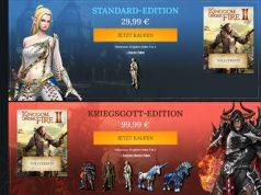 """Gameforge-Neuheit """"Kingdom Under Fire 2"""": Der Karlsruher Online-Games-Riese wickelt Zahlungen über Wirecard ab (Abbildung: Gameforge)"""