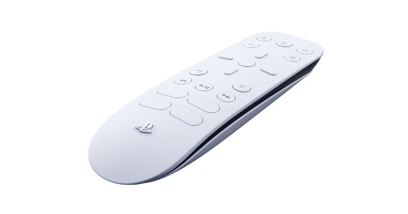 Mit der PlayStation-5-Fernbedienung lassen sich sowohl Konsole als auch Streaming-Dienste steuern (Abbildung: Sony Interactive)