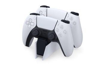 Neue PlayStation 5-Ladestation: Die DualSense-Controller sind natürlich nicht im Lieferumfang enthalten (Abbildung: Sony Interactive)