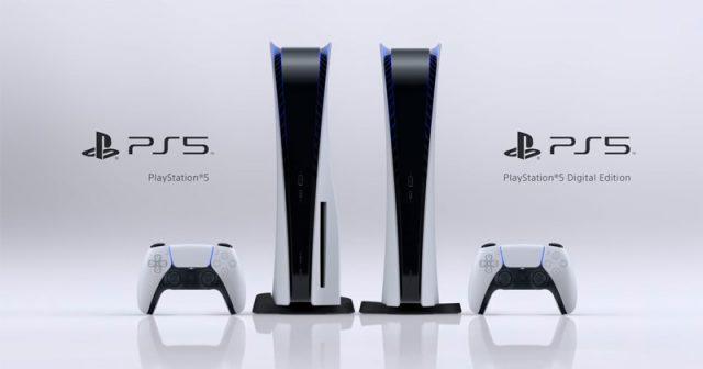 Die beiden PlayStation-5-Ausführungen: einmal die PS5 mit BluRay-Disc-Laufwerk, zum anderen die PS5 Digital Edition (Abbildung: Sony Interactive)