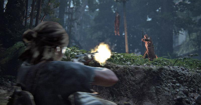 The Last of Us Part 2: Neben Infizierten bekommt es Ellie auch mit Rebellengruppen zu tun (Abbildung: Sony Interactive)