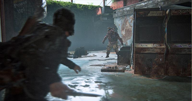 """The Last of Us Part 2: Gewöhnliche """"Infizierte"""" lassen sich im Nahkampf überwältigen - mit Ausnahme solcher Kawenzmänner (Abbildung: Sony Interactive)"""