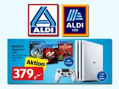 Der Prospekt-Preis ist schon Makulatur: ALDI Nord und ALDI Süd verkaufen das PlayStation 4 Pro-Bundle für 367 Euro (Abbildung: ALDI)