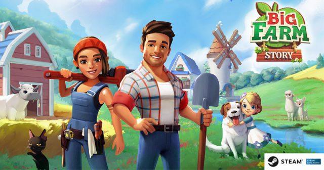 Soll die Big-Farm-Erfolgsgeschichte auf Steam fortschreiben: