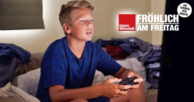 Eine DAK-Studie attestiert Deutschlands Kindern ungesunden Games-Konsum während des Corona-Lockdowns (Foto: DAK-Gesundheit / iStock)