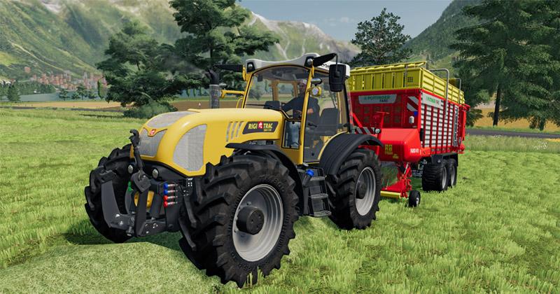 """Das """"Landwirtschafts-Simulator 19 Alpine Landwirtschaft""""-Add-on enthält 30 neue Landmaschinen (Abbildung: Giants Software)"""