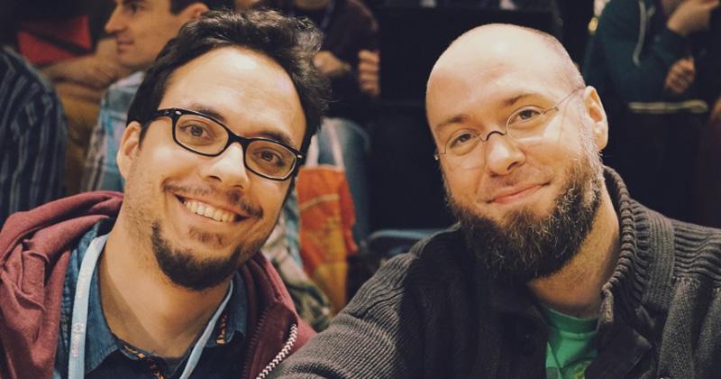 Riad Djemili und Johannes Kristmann sind die Gründer von Maschinen-Mensch (Foto: Maschinen-Mensch)
