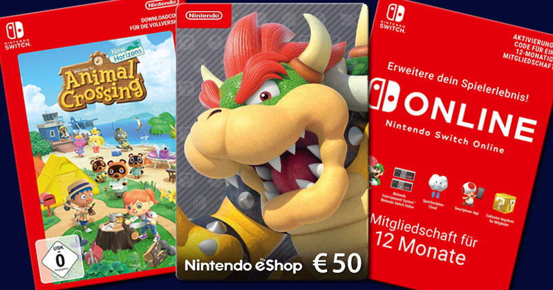 Verwirrung Um Download Codes Fur Nintendo Switch Update Gameswirtschaft De