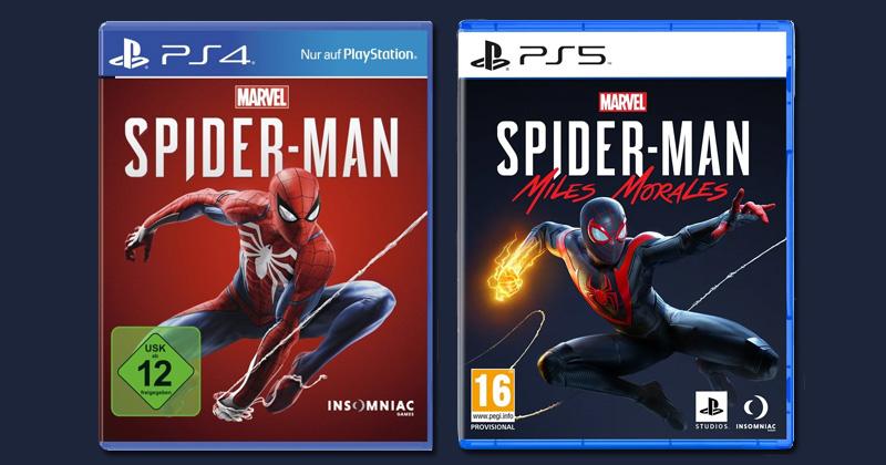 """""""Altes"""" und neues Hüllen-Design im Vergleich: So sieht die PlayStation-5-Verpackung aus (Abbildung: Sony Interactive)"""