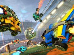 """Tollkühne Spieler in ihren fliegenden Kisten: """"Rocket League"""" wird zum Free2Play-Spiel (Abbildung: Psyonix)"""