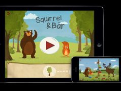 """Eines von vielen gelungenen Lernspielen: """"Squirrel & Bär"""" (Abbildung: The Good Evil)"""