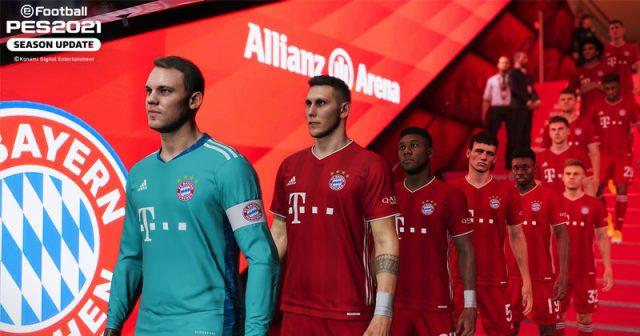 Tunnelblick: Für den Rekordmeister legt Konami eine FC-Bayern-Edition des