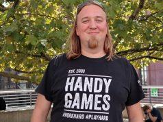 HandyGames-Gründer Christopher Kassulke auf der Devcom 2019 (Foto: GamesWirtschaft)