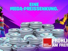 "Fortnite-Provokation: Wer Apple überspringt, bekommt einen ""Mega""-Rabatt (Abbildung: Epic Games)"