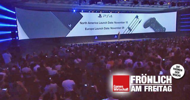 Vor sieben Jahren: Sony verkündet den PlayStation-4-Verkaufsstart auf der Gamescom 2013 (Abbildung: Sony)