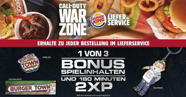 Call of Duty Warzone: Activision kooperiert mit Burger King (Abbildung: Activision)