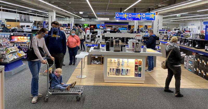 Wie der gesamte stationäre Einzelhandel sind auch die Euronics-Märkte von den Corona-Auflagen betroffen (Foto: Euronics Lüdinghausen)