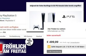 Amazon, Otto, MediaMarkt, Müller: Die PlayStation 5 ist in faktisch allen Online-Shops ausverkauft (Screenshots)