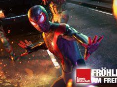 "Szene aus PS5-Neuheit ""Marvel's Spider-Man: Miles Morales"" (Abbildung: Sony Interactive)"