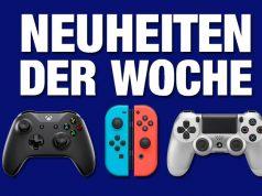 Games-Neuheiten der Woche für PS4, Xbox One, Switch und PC