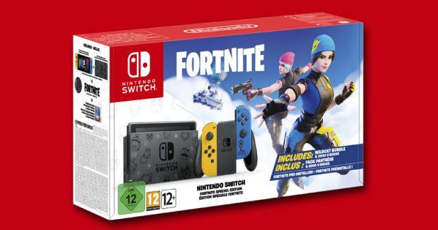 Ab 30. Oktober 2020 im Handel: Nintendo Switch Fortnite Special Edition (Abbildung: Nintendo)