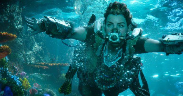 Szene aus der PS5-Neuheit Horizon 2: Forbidden West (Abbildung: Sony Interactive)