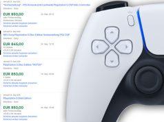 Für 800 Euro aufwärts werden PS5-Konsolen bei Ebay angeboten - und verkauft (Abbildungen: Screenshot / Sony)