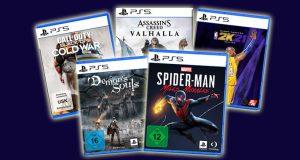 PlayStation 5 Spielepreise: Was kosten PS5-Games (Abbildungen: Ubisoft, Activision, 2K, Sony)