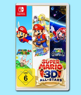 """Ab 19.9.2020 erhältlich: """"Super Mario 3D All-Stars"""" für Nintendo Switch (Abbildung: Nintendo)"""