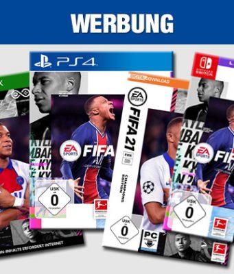 Die besten FIFA 21 Angebote bei Amazon, MediaMarkt, Saturn, Otto und Co. (Abbildungen: EA)