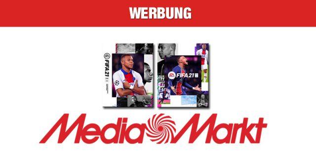Jetzt FIFA 21 bei MediaMarkt vorbestellen (Abbildungen: MediaMarkt / EA)
