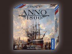 Erscheint am 21.10.2020: Anno 1800 - Das Brettspiel (Abbildung: Kosmos)