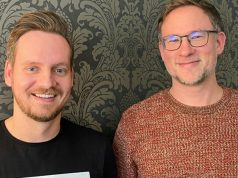 Neu im Team von Head of Product Management Marian Denefleh (rechts): Uwe Roth (Foto: Assemble Entertainment)