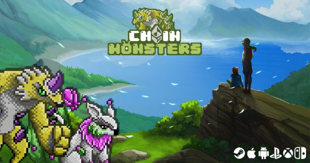 Kickstarter-Projekt Chainmonsters (Abbildung: B-Side Games)
