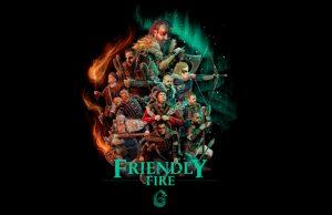 Motive aus Assassin's Creed Valhalla stehen Pate für das offizielle Friendly Fire 6-Artwork (Abbildung: PietSmiet UG)