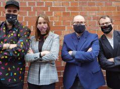 Das Team von Games:Net Berlin Europe: Lars Vormann, Selina Zimmermann, Florian Masuth und Jörn Leue (Foto: Games:Net)