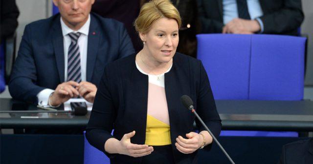Bundesfamilienministerin Franziska Giffey (SPD) - Foto: Deutscher Bundestag / Achim Melde