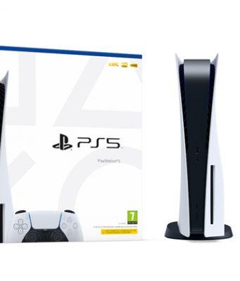 So sieht der Karton der PlayStation 5 aus, der ab dem 19.11. an Vorbesteller geliefert wird (Foto: Sony Interactive)