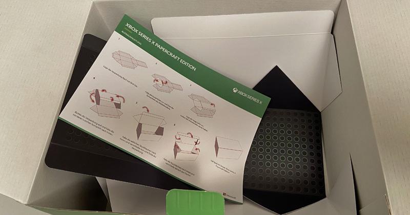 So sieht der Inhalt der Xbox Series X Vorbesteller-Kits aus (Foto: GamesWirtschaft)