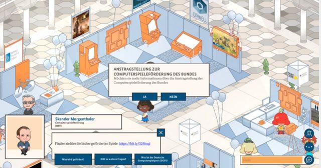 Digitaler Tag der Offenen Tür der Bundesregierung 2020: Zu Gast im Verkehrsministerium (Screenshot)