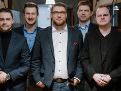 Das im November 2019 gewählte Präsidium des ESBD: Daniel Finkler, Christopher Flato, Hans Jagnow, Fabian Laugwitz, Martin Müller (Foto: ESBD / Alina Ehmann)