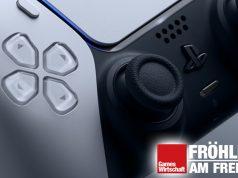 Objekt der Begierde: der Controller der neuen PlayStation 5 (Foto: Sony Interactive)